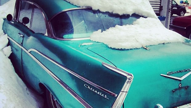 How to Store Your Classic Car for Winter
