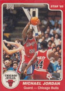 1984-85-Star-Michael-Jordan