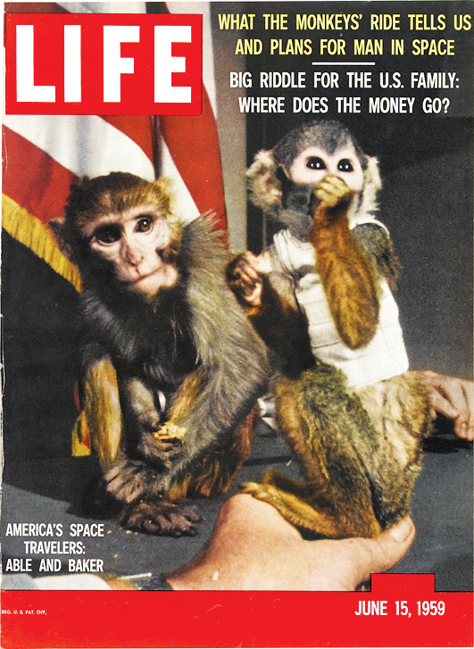 May 28, 1959: U.S. Launches Monkeys Into Space