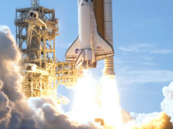 STS-124_launch_from_a_distance