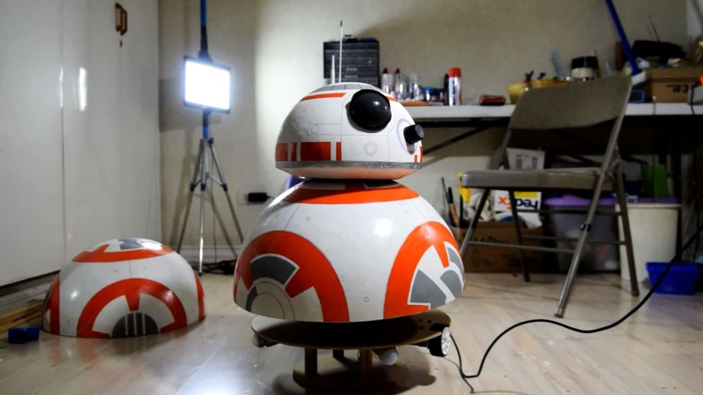 Build Your Own Life-size BB-8 Droid For Just $120 in Parts