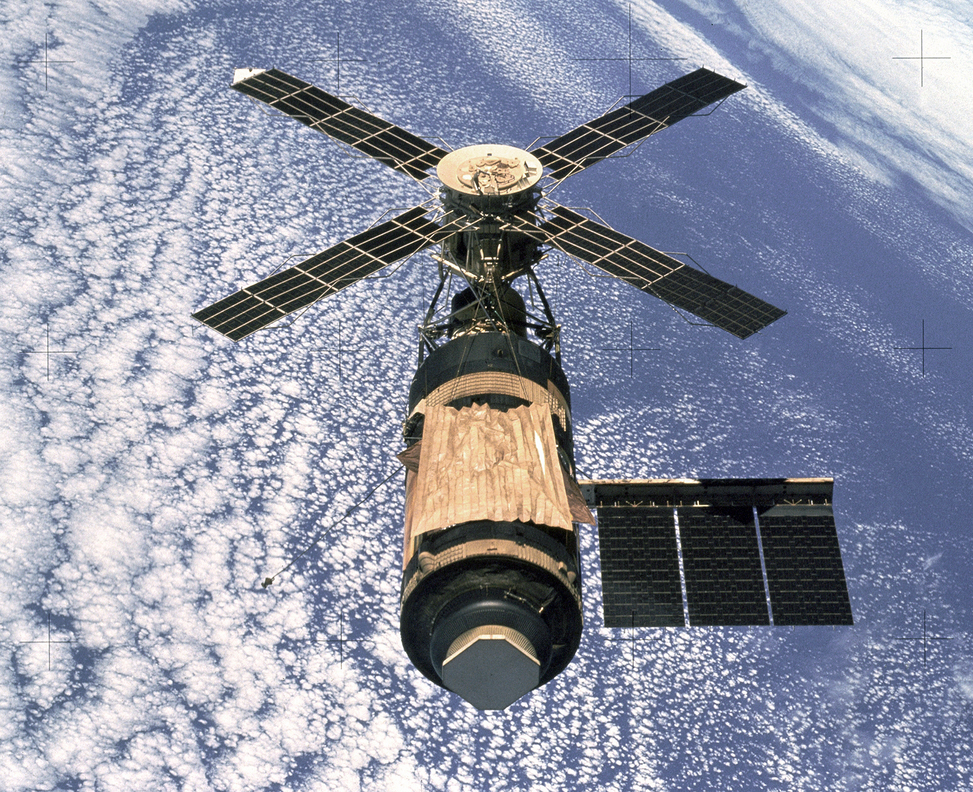 May 14, 1973: US Launches First Space Station