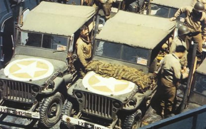 WWII Jeep M5 Detector Paint