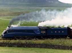 Mallard Steam Train
