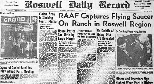 July 8, 1947: Aliens Land On Earth! (But Not Really)