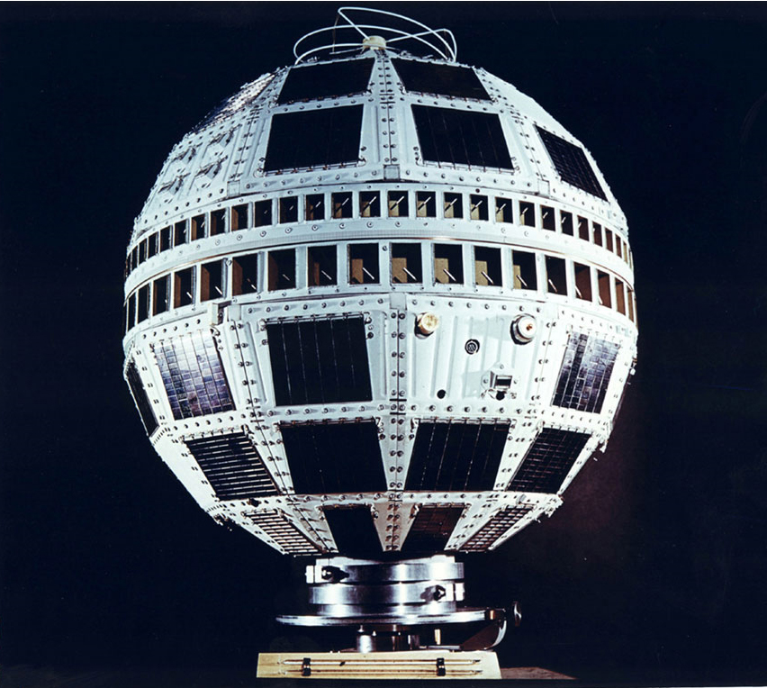 July 10, 1962: Telstar 1 Satellite Launched