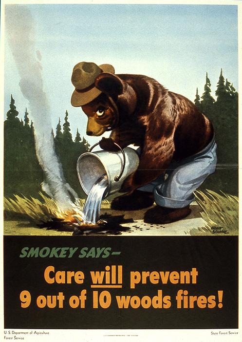 August 9, 1944: Smokey Bear Makes His Debut