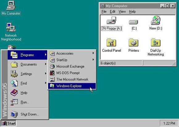 August 24, 1995: Windows 95 Publicly Released