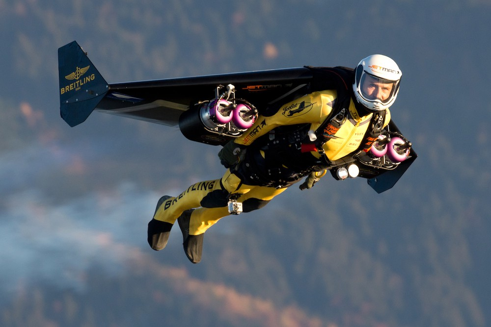 September 26, 2008: First Jet Pack Flight Over The English Channel