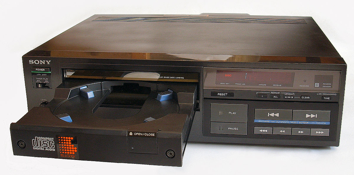 October 1, 1982: Sony Releases First CD Player
