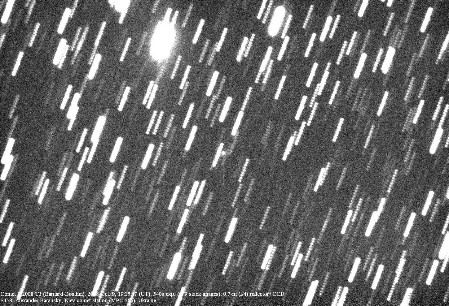 October 13, 1892: First Comet Discovered by Photograph