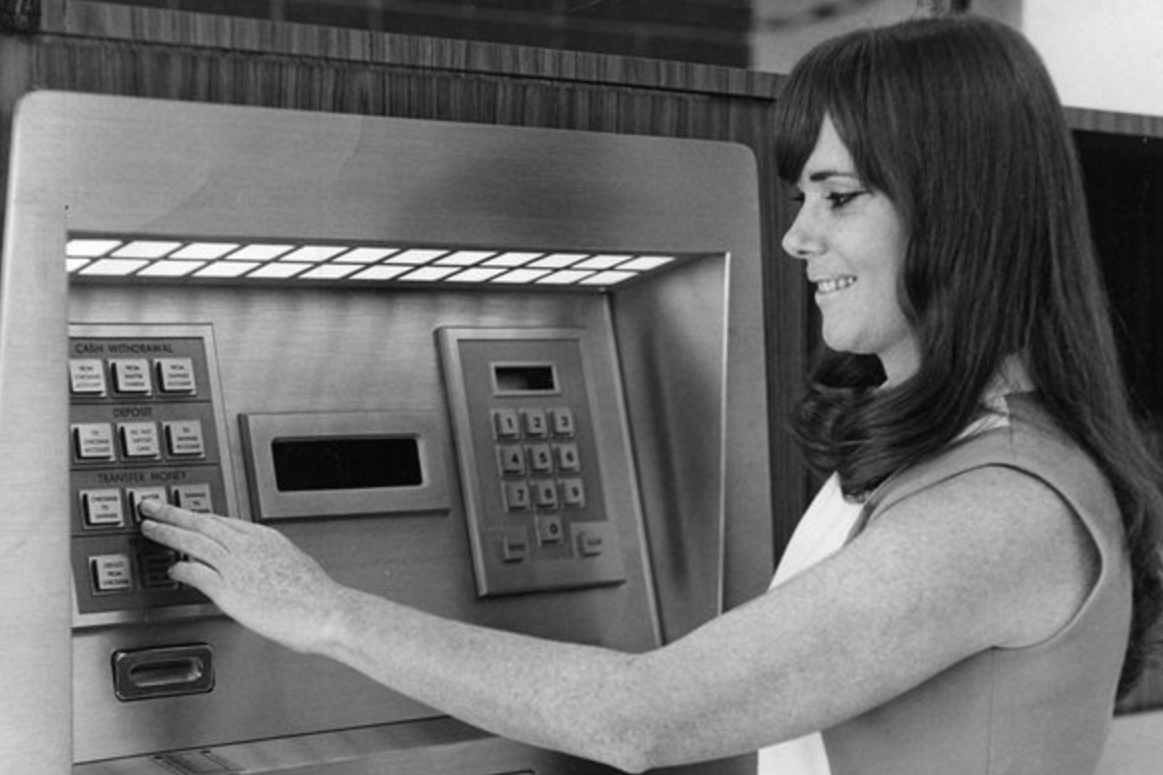 September 2, 1969: First ATM Installed in America