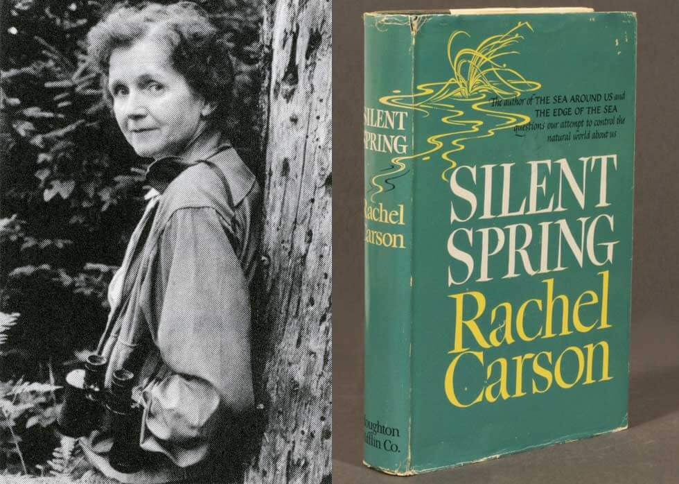 September 27, 1962: Environmental Science Book Silent Spring Shifts Public Views of Environmentalism