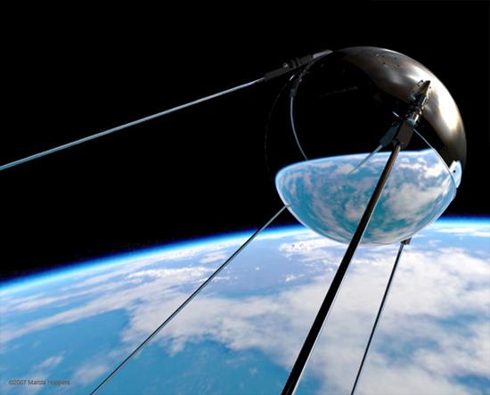 October 4, 1957: Sputnik 1 Is Launched