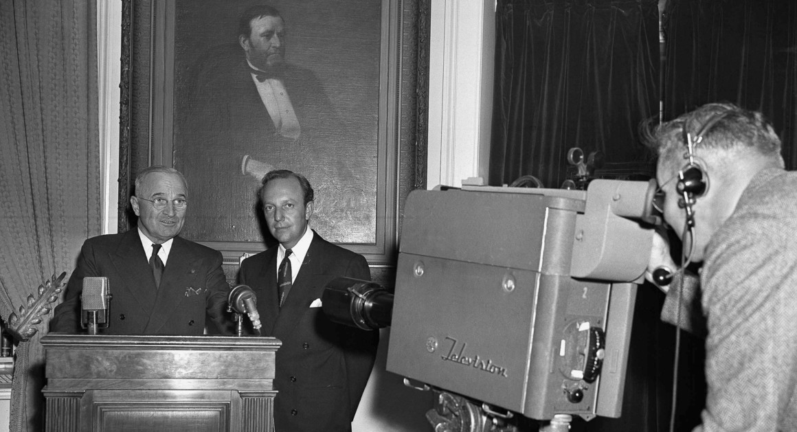 October 5, 1947: First Televised Oval Office Address