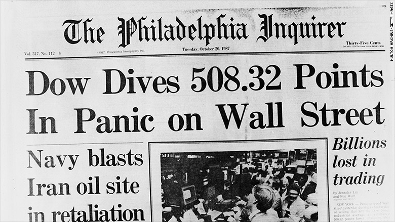 October 19, 1987: Black Monday Plunges the World Into Recession