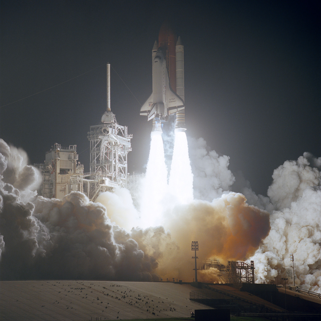 December 2, 1993: NASA Launches First Hubble Repair Mission