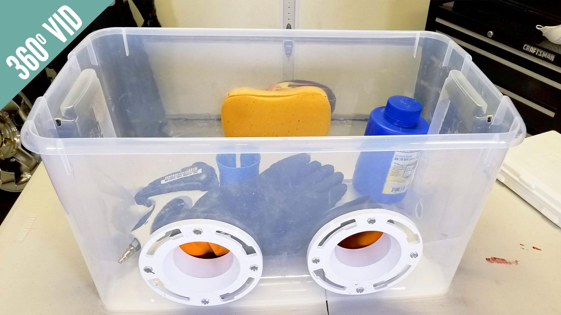 Homemade Sandblasting Cabinet – Wonder